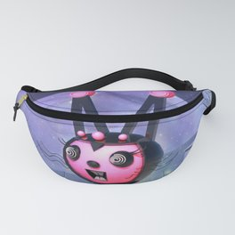 Run From The Giant Robot Rabbit Fanny Pack