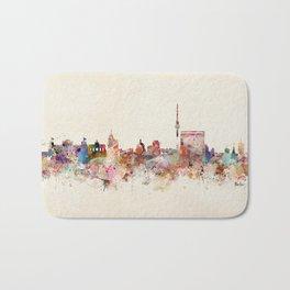 berlin germany city skyline Bath Mat