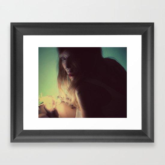 The last Framed Art Print