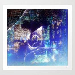 Blueoval Art Print