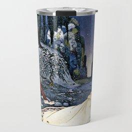 French Fairy Tales Illustration Travel Mug