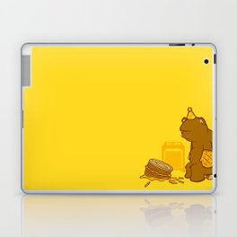 Birthday Bear Laptop & iPad Skin