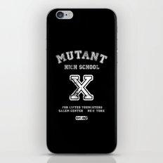 Mutant High School (X-men, Comics, Parody, Mashup, Wolverine) iPhone & iPod Skin