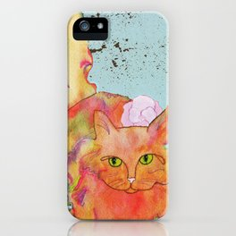 Jag Kitty iPhone Case