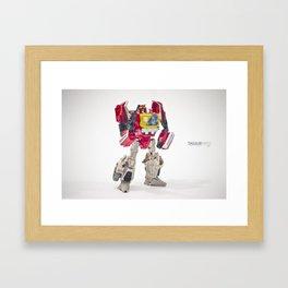 Blaster Framed Art Print