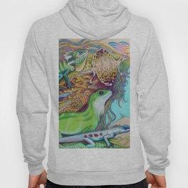 A Tangle Of Lizards, Lizard Art Hoody