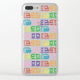 Camp Color Clear iPhone Case