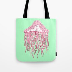 Mint Jelly Tote Bag