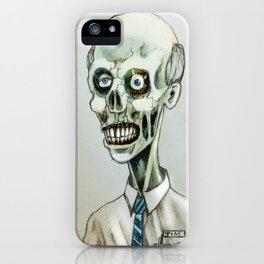 tim the zombie iPhone Case