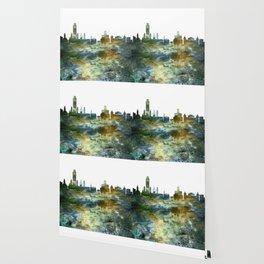 Albany City Skyline Wallpaper