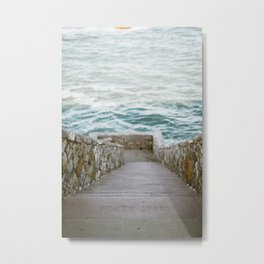 Forty Steps Metal Print