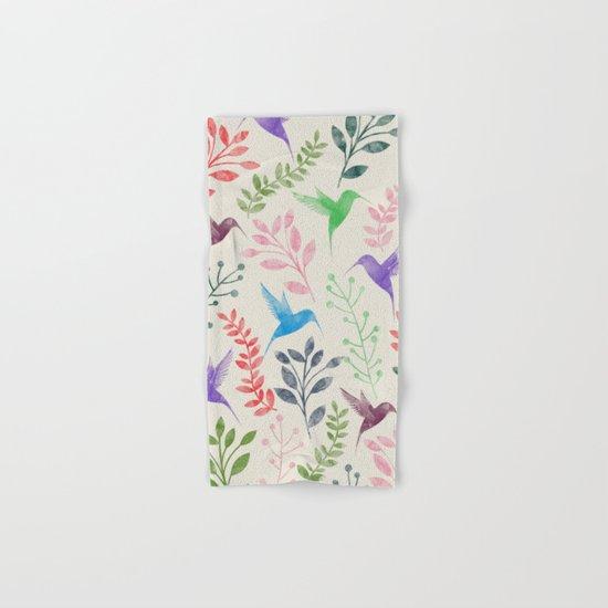 Floral & Birds II Hand & Bath Towel