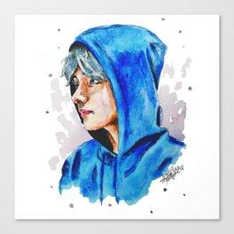 Taehyung watercolor BTS Canvas Print