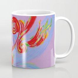 Painted Music Coffee Mug