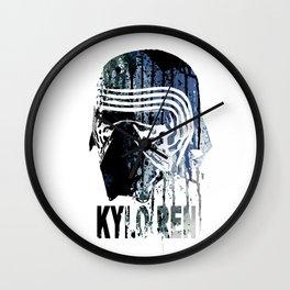 WARS #KYLO REN Wall Clock
