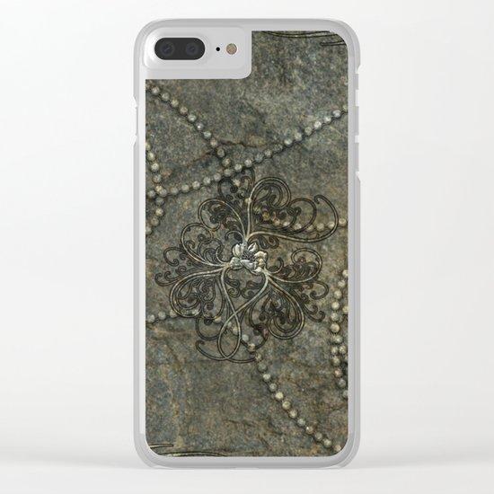 Wonderful floral design Clear iPhone Case