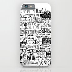 Into the woods tonight | Dana Scully Slim Case iPhone 6
