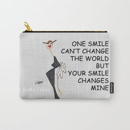 FUNNY GIRL Carry-All Pouch
