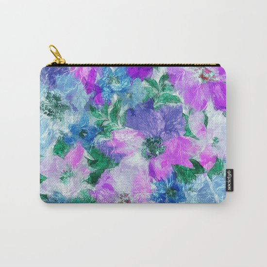 Splendid Flowers 3 Carry-All Pouch