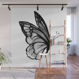 Ink butterfly Wall Mural