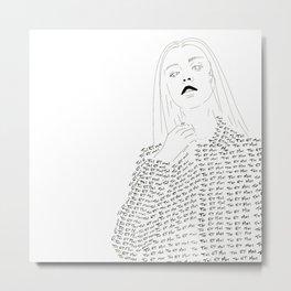 moi et toi Metal Print