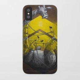 Giraffe up! iPhone Case