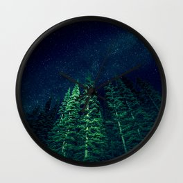 Star Signal - Nature Photography Wall Clock