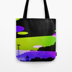 An Altered View of NYC Tote Bag