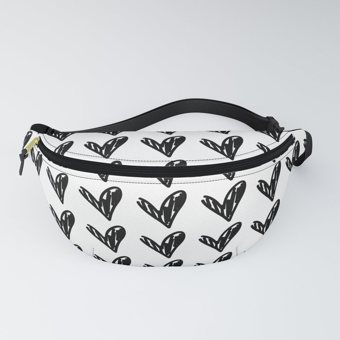 HEARTS ALL OVER PATTERN II Fanny Pack