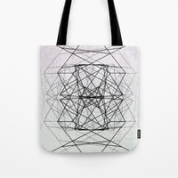 code Tote Bags featuring Code by Dood_L
