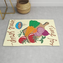 Time for Some Soup Rug