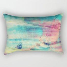 Edward Hopper Graffiti Rectangular Pillow