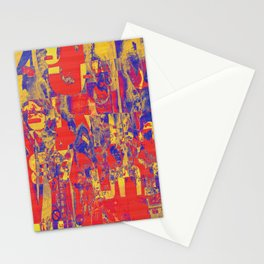 1758 Abstract Thought Stationery Cards