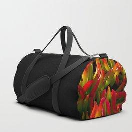 colorful plant Duffle Bag