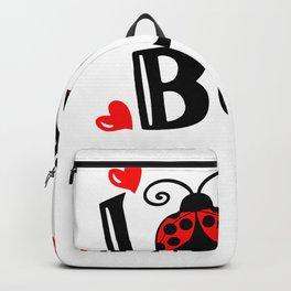 Vintage Valentines Day Love Bug Backpack
