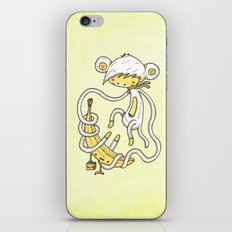 The Monkey and the banana iPhone & iPod Skin
