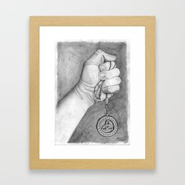 """""""Celtic Pendant"""" Framed Art Print"""