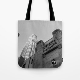 Grey skies Tote Bag