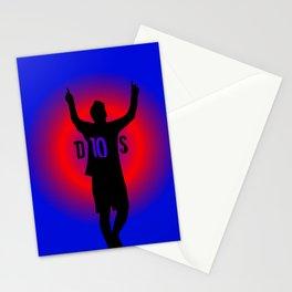 Soccer god Stationery Cards