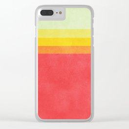 Taylor Swift's Palette Clear iPhone Case