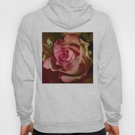 Extra veins on a rose Hoody