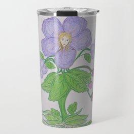Flor De Fantasias Daisy Travel Mug