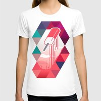popsicle T-shirts featuring Watermelon Popsicle by Spires