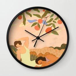 Midday Nap Wall Clock