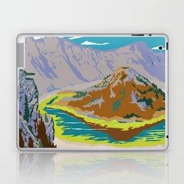 National Parks 2050: Crater Lake Laptop & iPad Skin