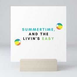 summertime Mini Art Print