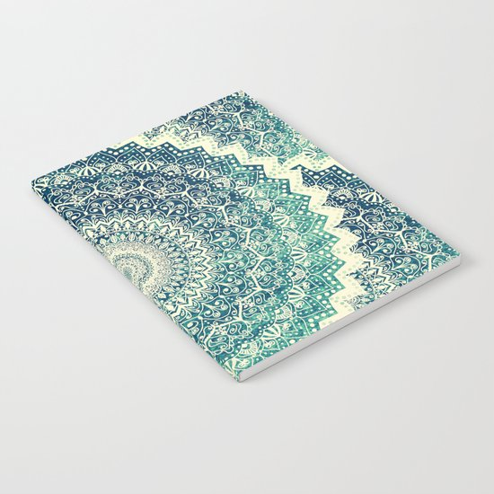 BICOLOR COLD WINTER MANDALA Notebook