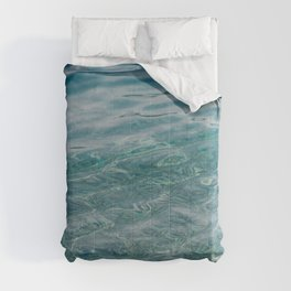 Clear Blue Sea. Waves, Ripples, Pebbles. 02 Comforters