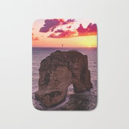 sunset #decor #buyart #society6 Bath Mat