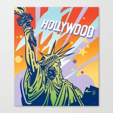 New York-Los Angeles Canvas Print